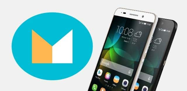 Android M EMUI 4.0 on Huawei Honor 4c