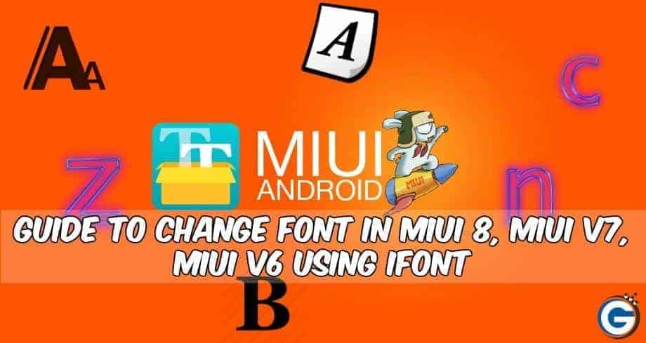 Change Font In MIUI