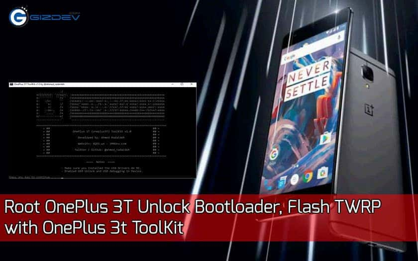Root OnePlus 3T