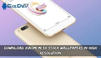 Download Xiaomi Mi 5X Stock Wallpapers In High Resolution