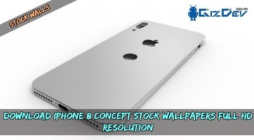 Download iPhone 8 Concept Stock Wallpapers Full HD Resolution