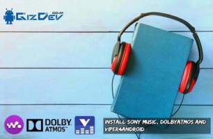 Install Sony Music Mod
