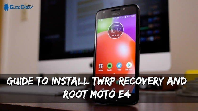 Root Moto E4 Snapdragon