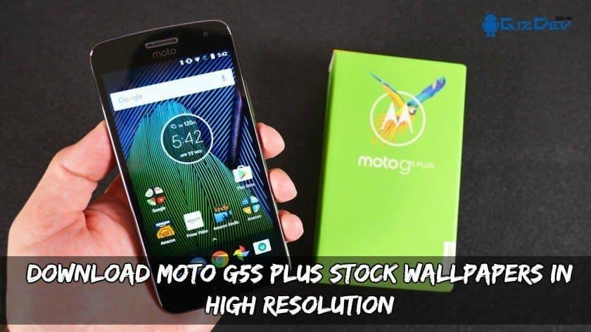 Moto G5S Plus Stock Wallpapers