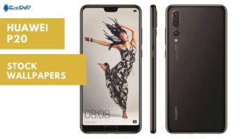 Download Huawei P20 Stock Wallpapers In HD Resolution