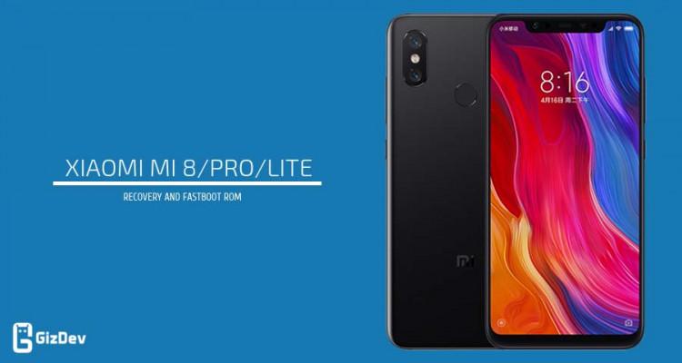 Xiaomi Mi 8 Firmware Download