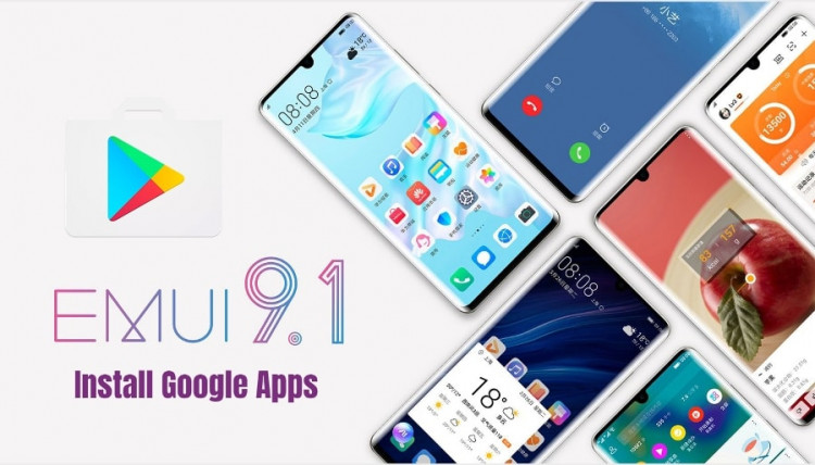 Google Apps On EMUI 9.0 EMUI 9.1