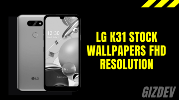 Download LG K31 Stock Wallpapers FHD Resolution