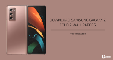 Samsung Galaxy Z Fold 2 Stock Wallpapers